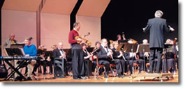 Warren Concert Band performance